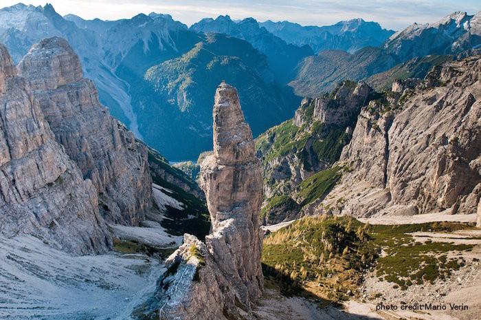 Dolomiti, campanile di Valmontanaia