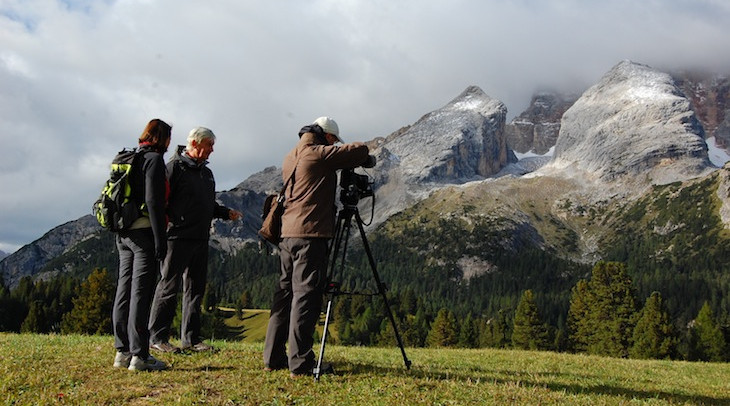 Badaloni Slanzi e Berti riprese Documentari