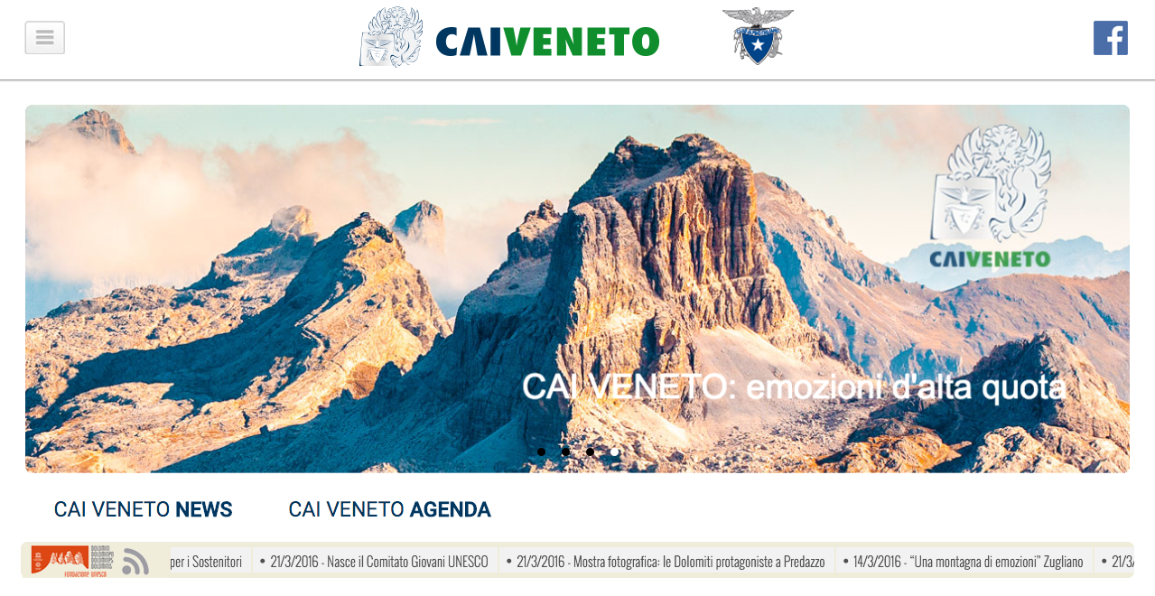 CAIveneto_DolomitiUNESCOfeed