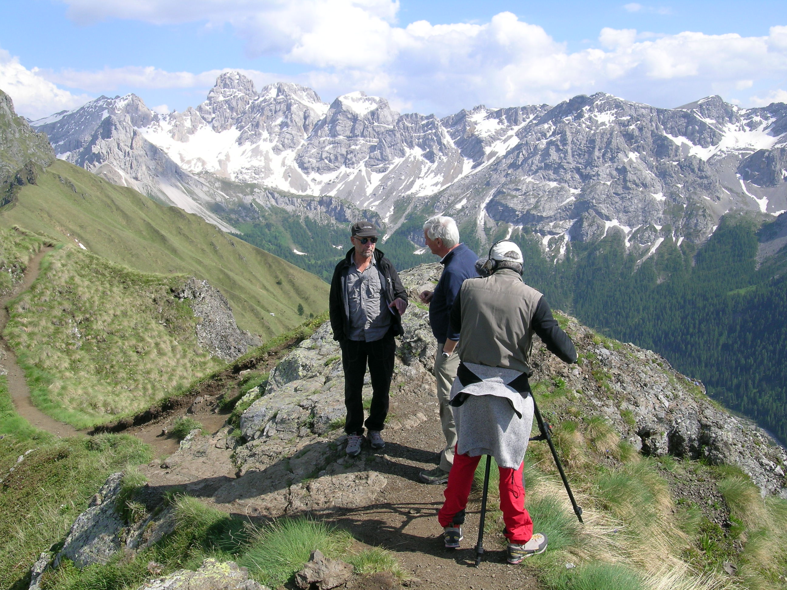 Making of Reportage Badaloni Dolomiti UNESCO