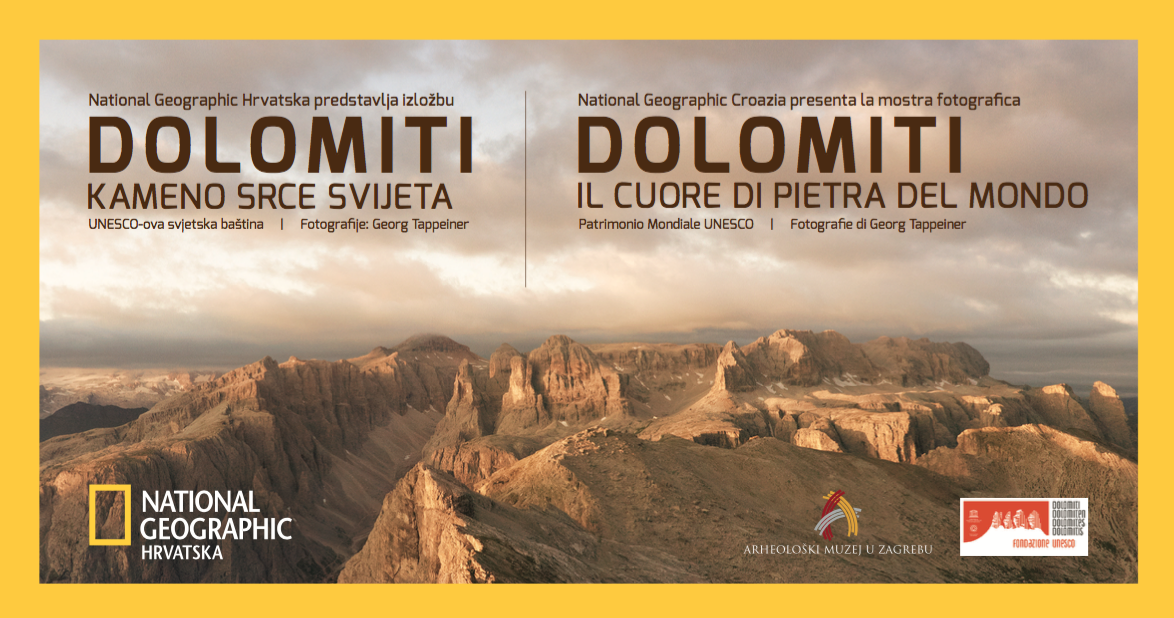 National Geographic Zagabria Dolomiti UNESCO
