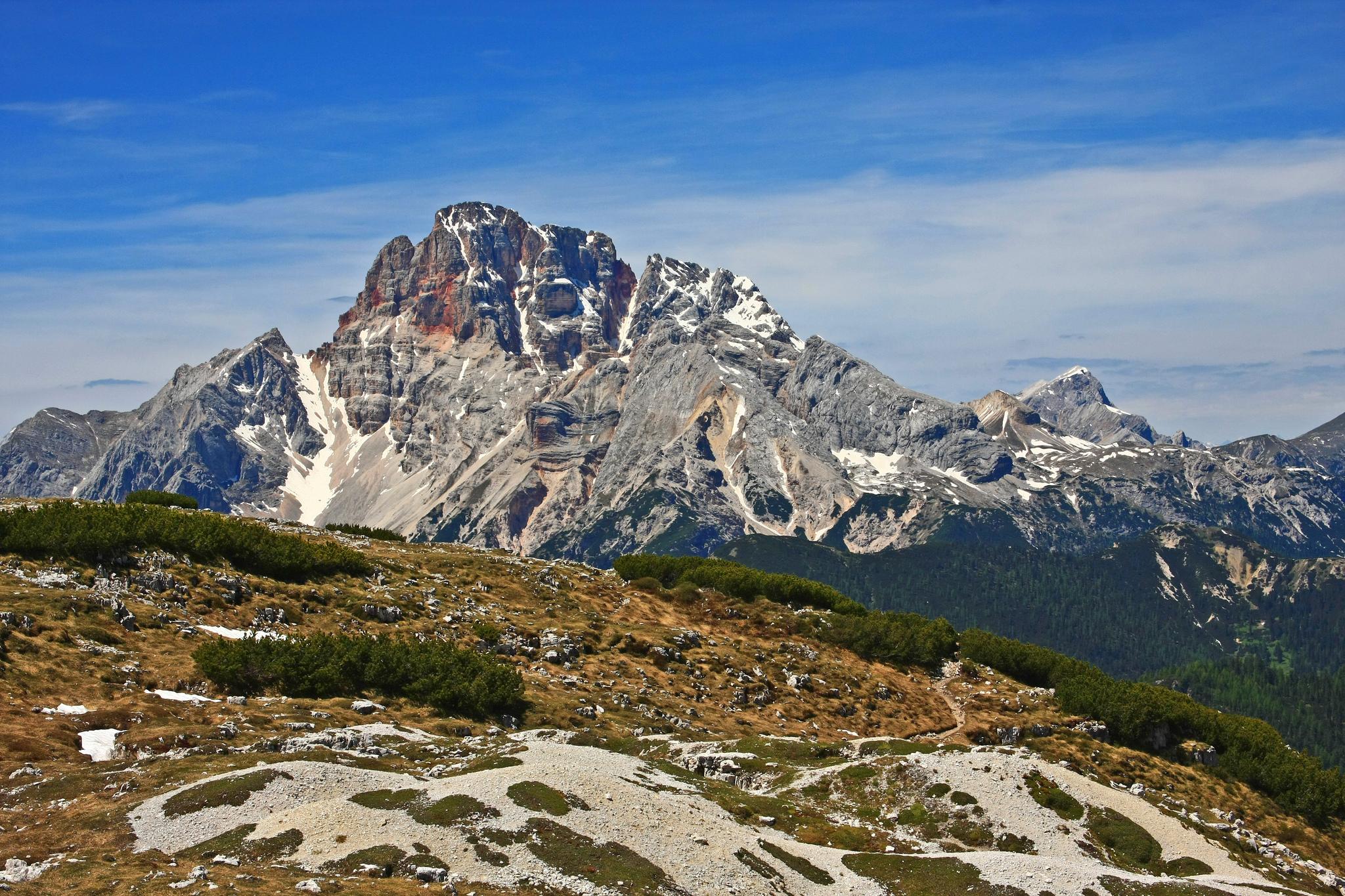 Croda Rossa d'Ampezzo Dolomiti UNESCO