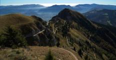 Vista panoramica dal Rifugio Dal Piaz, Vette Feltrine