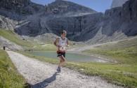 Martina Di Silvestro seconda classificata al passaggio dei laghi di cengia