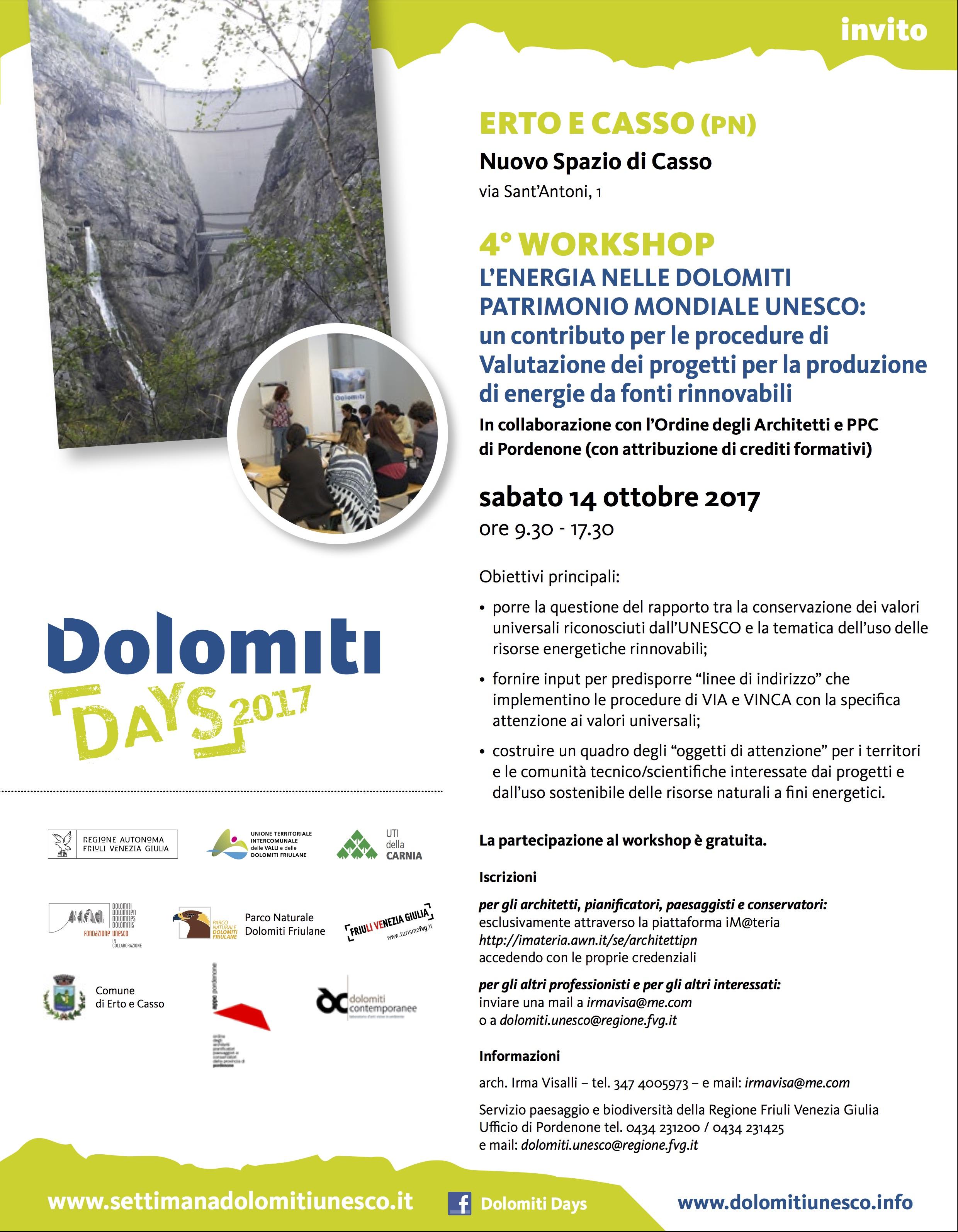 Dolomiti days 2017 invito 4 workshop Casso-def (1)