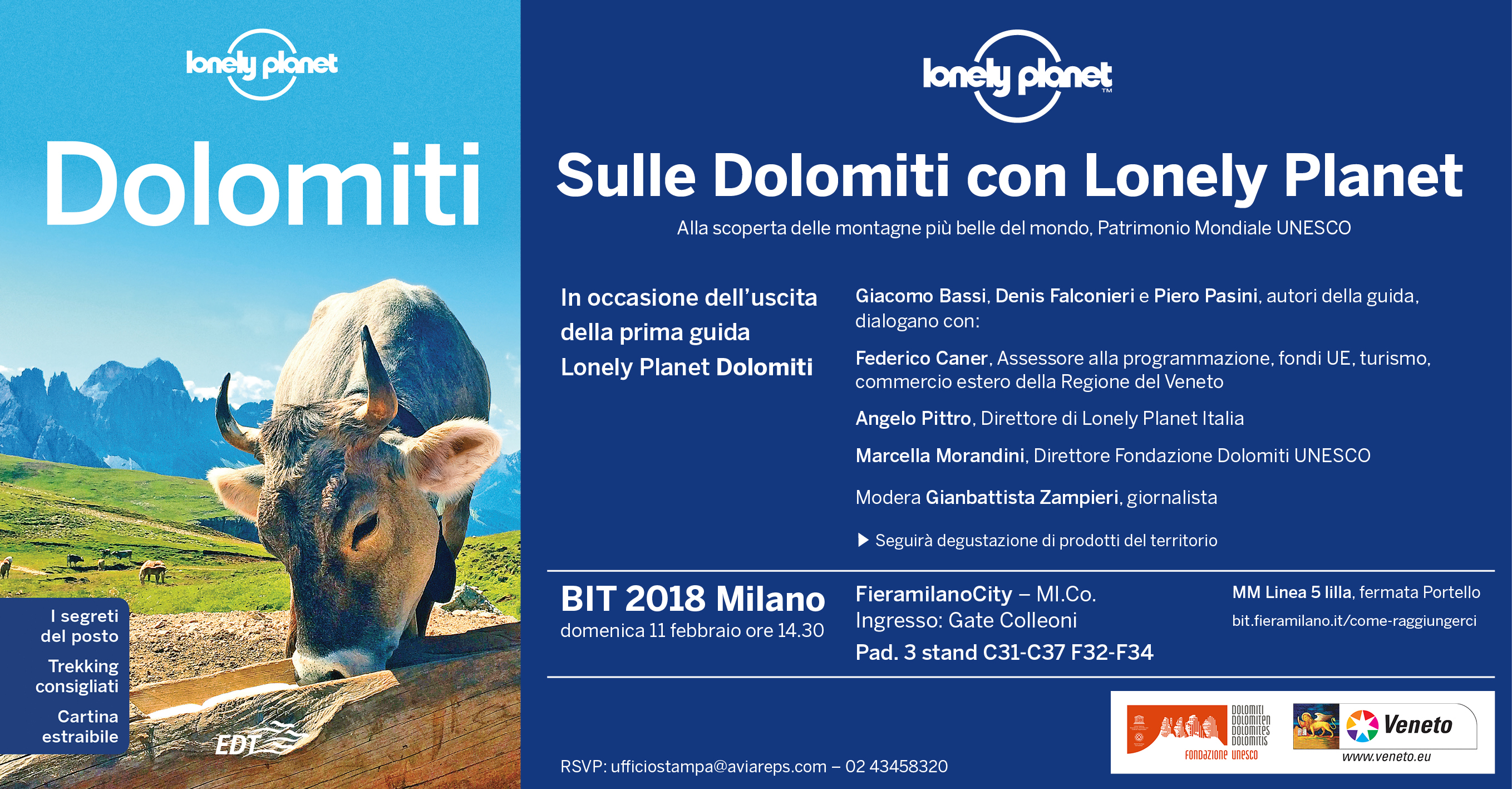 lonely planet dolomiti bit milano