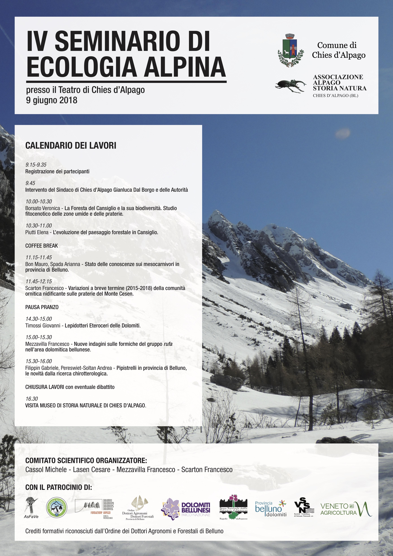 IV seminario ecologia alpina