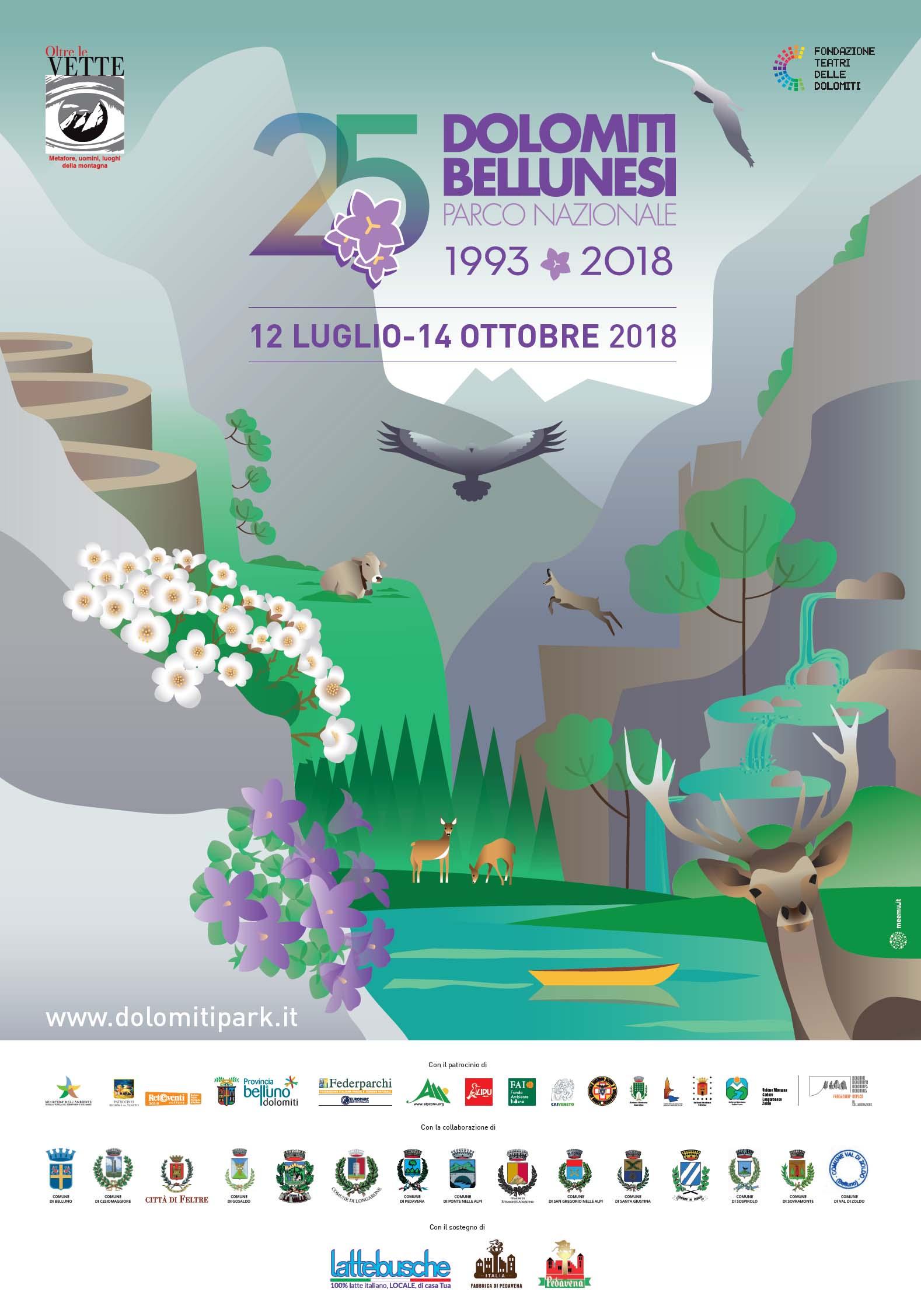 Poster 25o anniversario PNAB