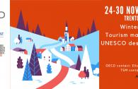 winter academy tourism management UNESCO sites