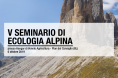 quinto seminario di ecologia alpina