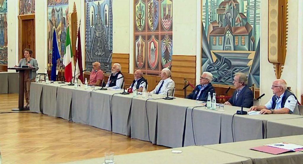 """Foto dei presenti al seminario """"Rifugi al tempo del covid19"""" del 15 giugno 2020"""